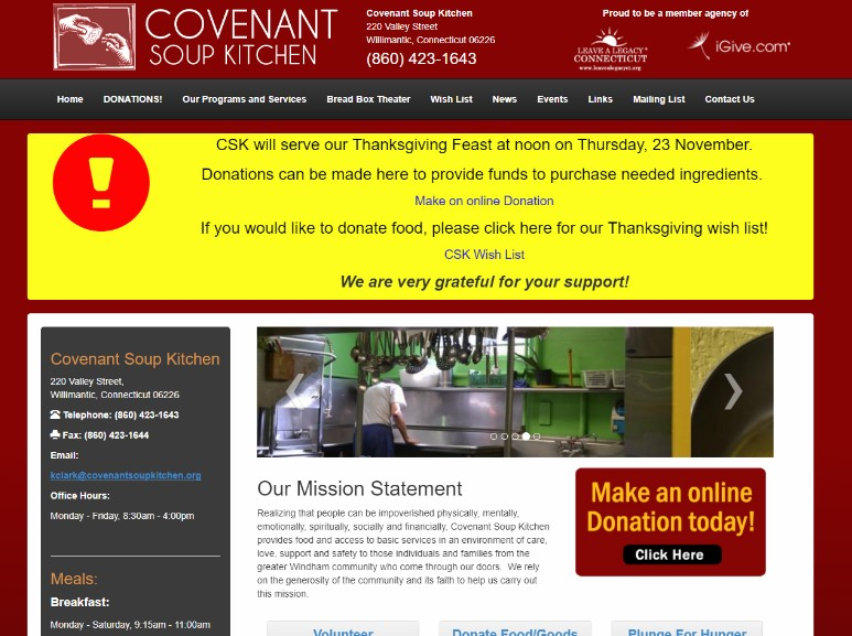 Covenant Soup Kitchen Image